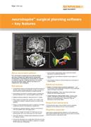 Flyer:  neuroinspire surgical planning software - key features (USA only)